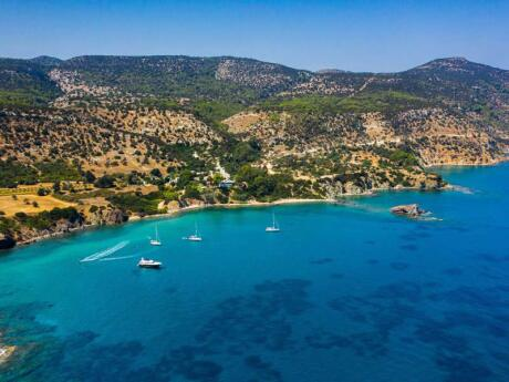 The Blue Lagoon off Akamas Beach is one of the most idyllic areas in Cyprus to experience
