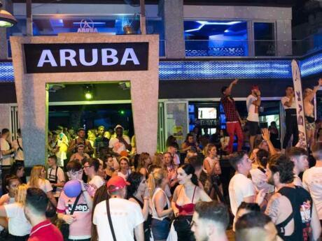 Aruba is a fun bar in Cyprus with an official LGBTQ night on Saturdays