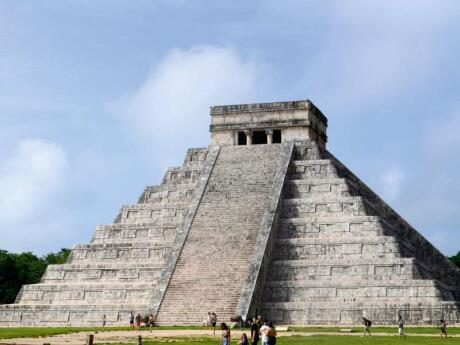 The pyramid of Chichen Itza is a must-see while you're visiting the Riviera Maya in Mexico