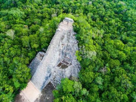 Head to the Coba Ruins in the Riviera Maya to learn more about Mayan culture and history
