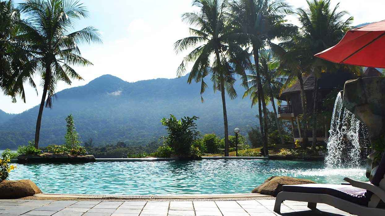 Damai Beach Resort is a short walk from the Rainforest World Music Festival and a divine spot to stay