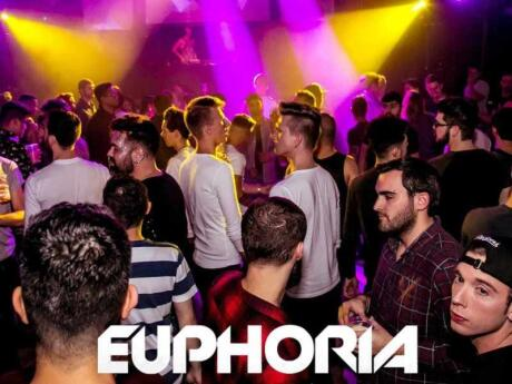 Euphoria is a fun gay dance party that takes place twice a month in Dublin