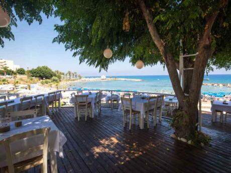 Kalamies is a gorgeous seaside restaurant in Cyprus with delicious seafood