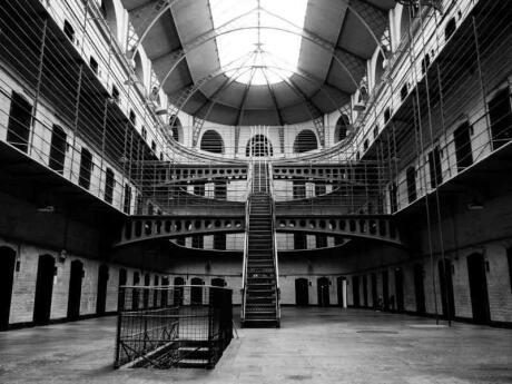 A visit to Kilmainham Gaol in Dublin is a grim but interesting activity