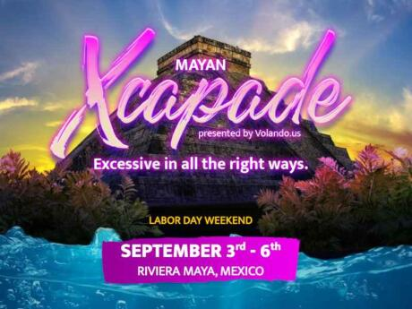 Mayan Xcapade is our choice for the ultimate gay party weekend in Mexico's Riviera Maya