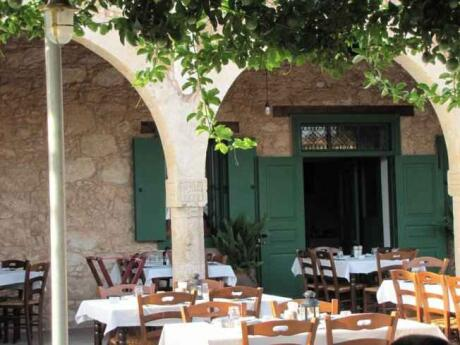 Mousikos Tavern is a lovely spot in Cyprus for meze and wine