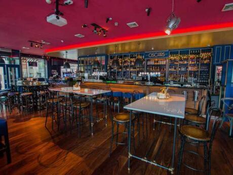 Oscars Café Bar is a lovely spot in Dublin for drinks and food