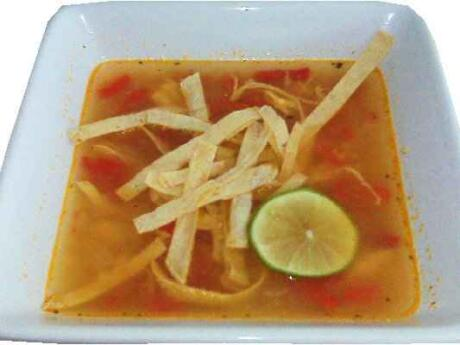 Lime soup may sound weird, but it's a surprisingly refreshing dish we tried in the Riviera Maya