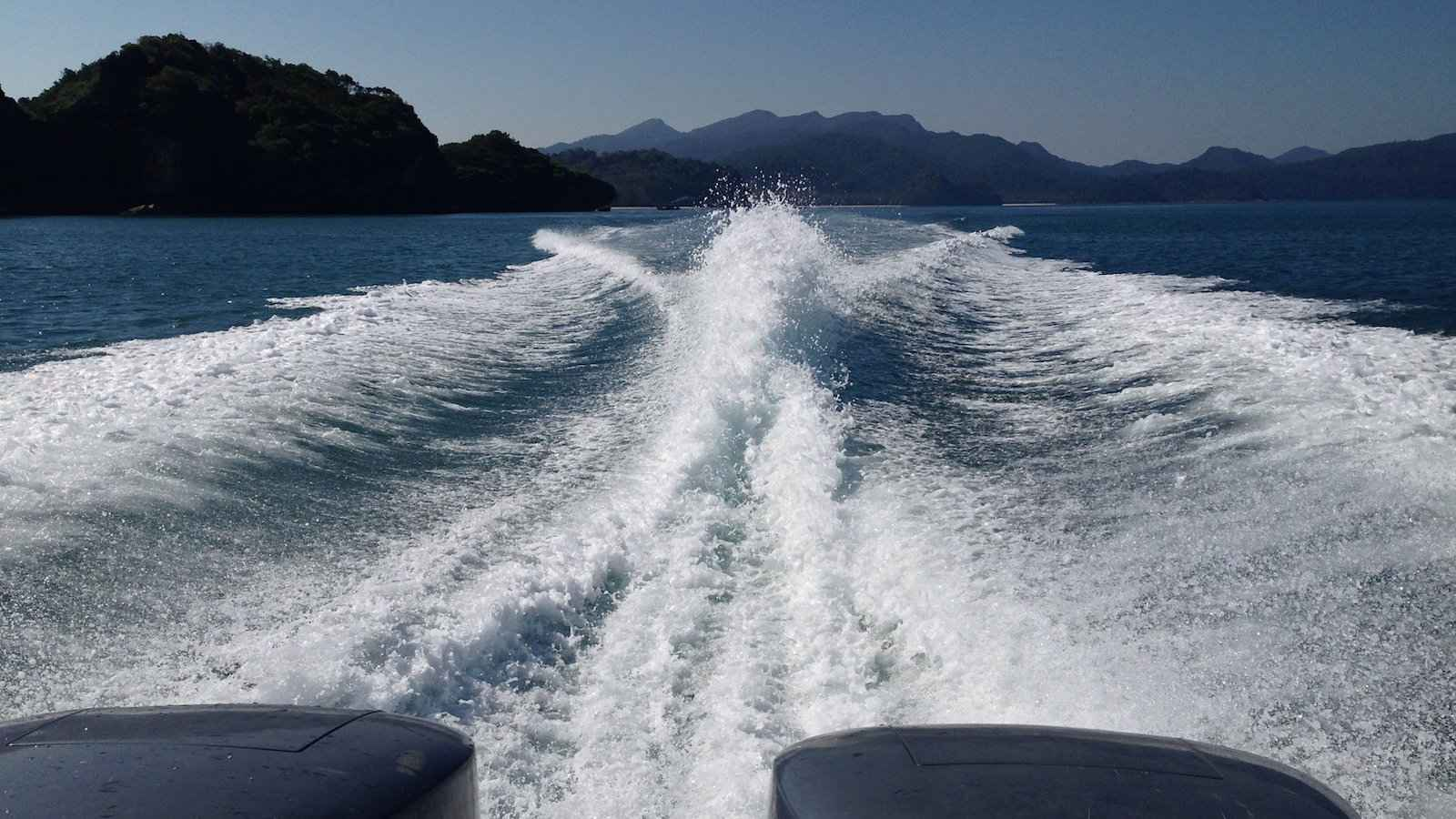 You can reach Thailand's island of Koh Tarutao on a fun speedboat!