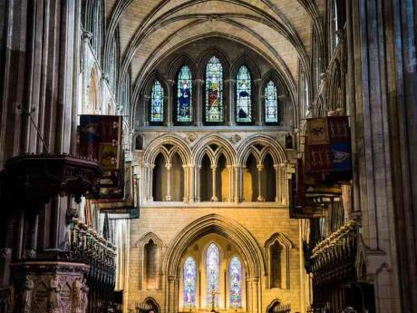 St Patrick's Cathedral is a stunning cathedral in Dublin that you need to see when visiting the city