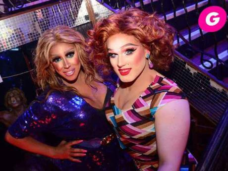 Late at night The George in Dublin switches from gay bar to pumping gay club!