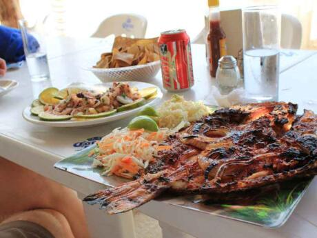 Tikin Xic is a tasty marinated fish dish from Mexico we ate plenty of in the Riviera Maya
