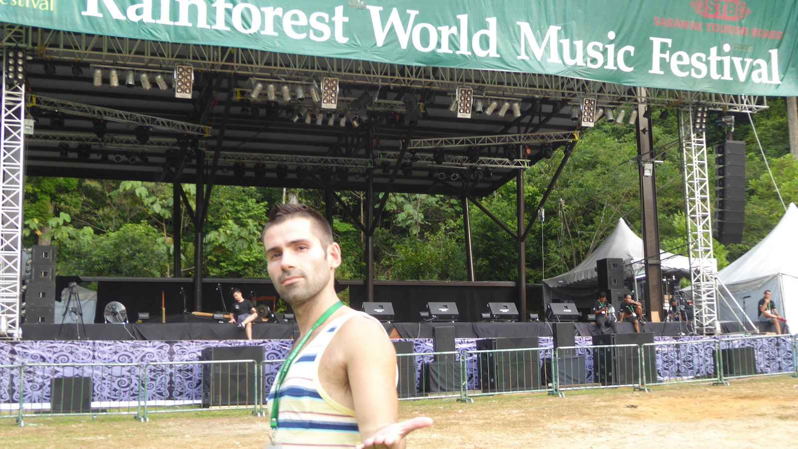 The Rainforest World Music Festival is a three day event showcasing musicians from around the world